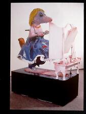 PATRICK O'REILLY carton vernissage Gal. Piltzer 1997 Peintre Sculpteur Irlandais