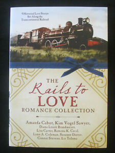 THE RAILS TO LOVE COLLECTION EXC S/C HISTORICAL CHRISTIAN RAILROAD ROMANCE