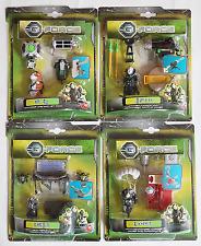 DICKIE TOYS G-FORCE DISNEY : SPECKLES + DARWIN + JUAREZ + BLASTER Figure Set