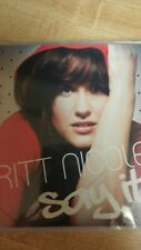 Sparrow Records Say It by Britt Nicole CD 2007 Sunshine Girl When She Cries You