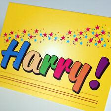Amusing new Birthday Gift Idea for men, boys, males named HARRY. A big fun gift!