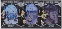 17-18 SP Game Used Charlie McAvoy /298 Rookie Shadow Box Rookies Bruins 2017
