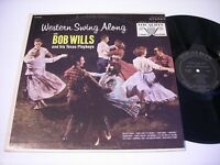Western Swing Along with Bob Wills and his Texas Playboys 1965 Stereo LP VG++