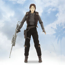 "Disney Store Star Wars Rouge One Jyn Erso Elite Series Premium Action Figure 10"""
