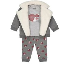 *NEW* La Redoute Baby Boys 3 Piece Winter Fox Trouser /& Jacket Outfit 3-6 Months