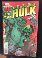 The Incredible Hulk #10 Marvel Comics Jason Aaron 2012