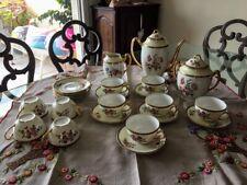 Ancien service a thé ou café en porcelaine de Limoges
