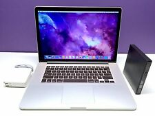 ULTRA MacBook Pro  15 Retina OSX-2015 - Core i7 2.3Ghz -  512GB SSD! Warranty!
