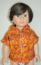 """Fits American Girl Our Generation Journey 18"""" Boy Dolls Clothes Cotton Shirt"""