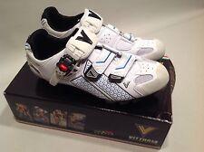 Vittoria Supra MTN Bike Carbon Sole Shoe White/Blue 42.5 EU 9 US