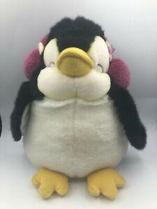 Official Russ Berrie Tux Daisy Chain Press Penguin Bird Plush Stuffed Toy Animal