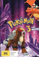 POKEMON 3 : THE MOVIE  -  DVD - UK Compatible -   Sealed