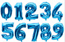 "32"" 80cm HELIUM NUMBER 0 1 2 3 4 5 6 7 8 9 BALLOON BIRTHDAY PARTY SUPPLIES DECOR"