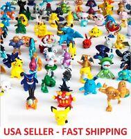 20 pcs Pokemon Monster Mini Figures Cake Toppers Party Favors, Pikachu *RANDOM*