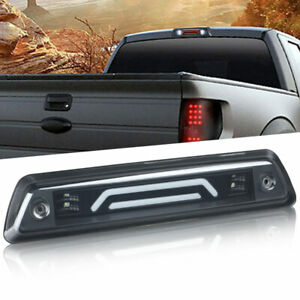 SMOKE LENS LED 3RD THIRD BRAKE STOP TAIL CARGO LIGHT FITS FOR 09-14 FORD F-150