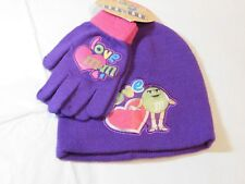 Accessories 22 M&M's Girls Gloves Mittens & Beanie One Size Acrylic Knit hearts