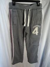 Aeropostale mens heavy sweatpants size xs gray name brand designer