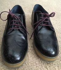 DIESEL mens leather wingtip shoes 10.5
