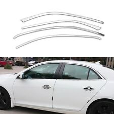 Full Windows Chrome Molding Trim Decoration Strips For Chevrolet Malibu 2013-15
