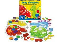 Orchard Toys - Dotty Dinosaurs Game NEW * kids match shapes colours game