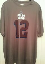 NFL Team Apparel Indianapolis Colts Andrew Luck TX3 Cool Shirt (Size Large)