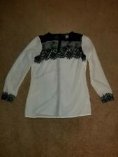 womens blouses long sleeve size 6