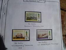 BERNERA ISLANDS  (SCOTLAND) 1979 ROLAND HILL CENTENARY SHIP STAMPS SET 3 USED