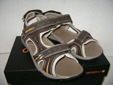 NIB MERRELL PANTHER BOYS SANDALS SHOES Size 7 M BROWN