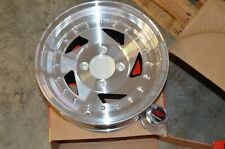 14x6.5  Sendel wheels  Billet style  4x4.5 *Single wheel* NOS *