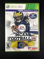 NCAA Football 14 (Xbox 360, 2013) Game Complete College 2014