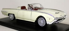 Nex 1/18 Scale - 1962 Ford Thunderbird Sports Roadster Cream Diecast model Car