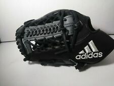 "$220 Adidas EQT 1250 TW Trap Web Pro Baseball Glove 12.5"" Black Gray LHT AZ9150"