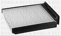 BFC1019 BORG & BECK CABIN AIR FILTER fits Niss. Micra K12 / Renault Clio II