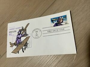 C128 Harriet Quimby, House Of Farnam FDC