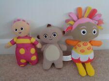 In The Night Garden Tombliboo  Upsy Daisy Makka Pakka Soft Toys x 3