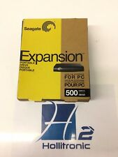 Seagate 500GB Expansion portable Drive (ADD-ON Storage for PC) *NEW*