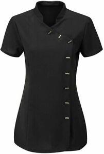 Beauty Tunic Hairdresser SPA Nail Salon Therapist Carer Uniform woman top tunic