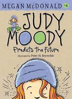 Judy Moody Predicts the Future by Megan McDonald, Good Used Book (Paperback) FRE