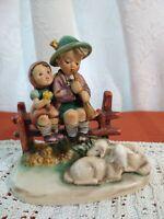 "Vintage Hummel Goebel Figurine  ""Eventide""  #99 TMK3   (A)  W Germany"