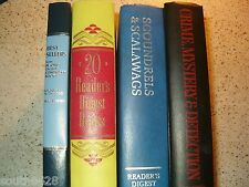 Lot of 12 Special 20 Reader's Digest Books 1953  Best Sellers 1986 Select Editio
