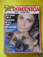 LA DOMENICA DEL CORRIERE ANNO 86 N. 45 10 NOVEMBRE 1984 ARRIVANO I BLU