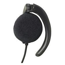 Soundlab Mono Earphone Phone Radio, 1 m Lead and 3.5 mm Jack Plug