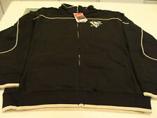 Pittsburgh Penguins Full Zip Track Jacket NHL XXL 2011 Reebok, Black