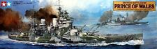 British Battleship Prince of Wales Kit scala 1/350 78011 Tamiya