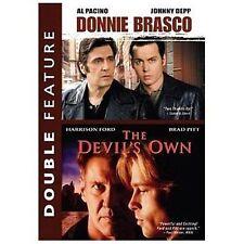 DONNIE BRASCO & THE DEVIL'S OWN DVD SET ,  NEW IN ORIGINAL CASE DVD