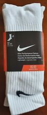 Nike Performance Cotton Ankle Socks, Pack Of 3, Size 11-14.5, BNWT