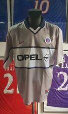 Maillot jersey maglia camiseta shirt trikot PSG Paris opel 2000 2001 gris XL 00