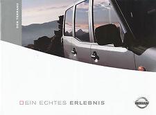 BROCHURE Nissan Terrano 2004 Car Brochure 2 04 Brochure Car Japan SUV