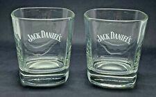 More details for pair of jack daniels glasses - pub bar two 2 tumbler whisky whiskey home bar