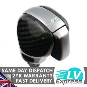 Carbon Fiber & Satin Chrome DSG Gear Knob Compatible with Golf MK6 MK7 Passat B7